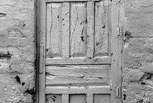 Puertas alpujarreñas