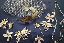 Headwear ❤ Pearls, Rhinestones, Sequin & BlingBling / by Allyson Chong