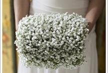 Muff bridal bouquet
