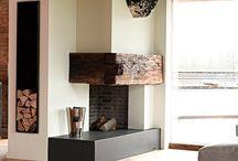Minimalist Cabin & Fireplace