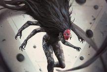 Legendary Devil / Son Of The Devil Devil Evilness Villain