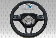 Neu Original Lenkrad DSG Steering Wheel Schwarz Leder + Multifunktion Skoda SuperB Kodiaq 3V0419091S