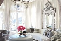 Hollywood regency / Interior, design, Hollywood regency style