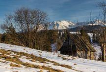 Miejce które warto zobaczyć / Przedsatwaim zdjęcia Tatr i okolic
