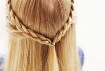 Pretty Hair Styles / Hair styles, tips and tricks, color, braids, boho, casual and formal.