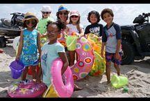 Kids Learn Beach Safety