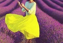 Виоллет & желтый