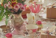 Hightea Tablescapes and food