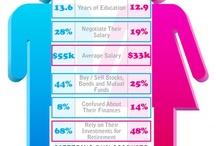 Pink Infographics