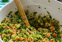 Quinoa salads/recipes