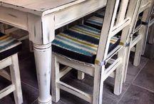 Mesas restauradas