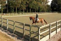 Horse arena