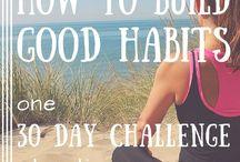 Challenge ideas (Mind, body, soul)