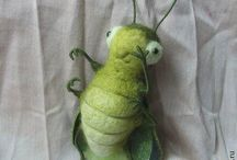 Felted insects