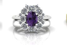 Engagement Rngs with Gorgeous Colour / An engagement ring does not have to mean diamonds. The four precious gemstones are diamond, emerald, ruby and sapphire, all with an infinite variety of colour and texture. If you (or your intended) love colour, you may want something more unusual than a diamond.