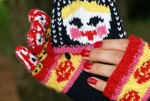 Mitts / knitted & crocheted mittens, gloves, fingerless mitts