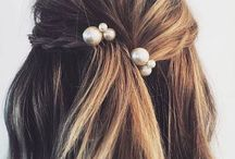 Hair , nails