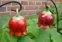 clochettes rouge raku