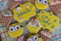 Cookies Minions / Minions and icecream!