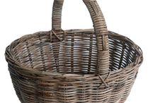 Rattan Shopping Baskets