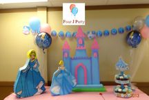 Cinderella Decoration In Miami, Florida, Usa / Throw an enchanting party with cindrella decorations. We at Four J Party provides cindrella party supplies and birthday decorations in Miami, Florida, Hialeah and Broward areas at most effective prices. Call at 786-877-8383 to enquire more.