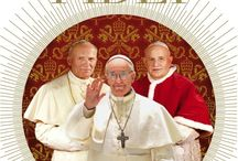 Imago fidei. Three popes in the footsteps of Peter: John XXIII, John Paul II, Francis / A book with a lot of beautiful images, the most famous popes's quotes and historical information, light and easy to read, with a section about the history of the Saint Peter Basilica and Saint Peter's grave. The book is available in 6 languages (italian, english, french, spanish, portuguese and polish): on the inside flap of the front cover are printed 4 complimentary precious holy icons that can be cut-out for safe-keeping or as a gift to a loved one.