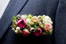 BUTTONHOLES / Groomsmen inspiration