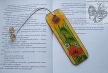Decoupage zakładki do książek / To tylko część moich prac :) Jeśli podobają ci się i chcesz je mieć to zapraszam do kontaktu: cohenna@o2.pl