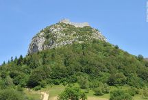 Cathar Country / Walking in the Cathar Country https://www.purelypyrenees.com/cathars-culture-cuisine.html #catharcountry #pyrenees #travel #walking