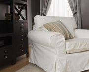 Chair slip covers / by Cindy Hairfield