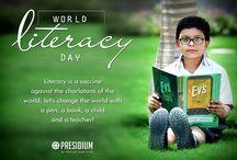 World Literacy Day, 8th September, 2016 / World Literacy Day, 8th September, 2016