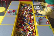 Lego trough table