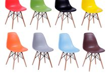 Cadeira Charles Eames Eiffel Dkr - Base Cromada