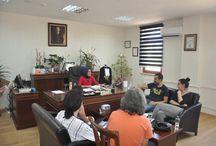 Jan - Sızı Ekip ve Oyuncuları Artuklu Üniversitesi Ziyareti / Jan - Sızı Ekip ve Oyuncuları Artuklu Üniversitesi Ziyareti
