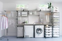 Laundry/Pantry designs / by Hilda Heady