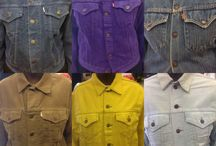 Levi's & Levi cord jackets / Vintage Levi jackets & vintage Levi's corduroy western style jackets