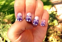 Nails! / I love doing my nails. Constantly I'm in my room doing my nails so these are great ideas!  / by A Rogers
