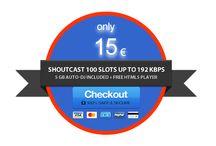 Server Shoutcast 100 Slots 128 Kbps / Server Shoutcast 100 Slots 128 kbps - Azoto Solutions