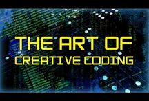 CODE / Coding for web development, app development, and game development.