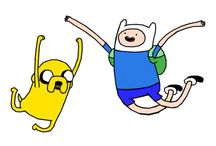ADVENTURE TIME / What's better than Adventure time with Finn and Jake