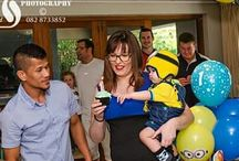 Jonathan's 1st birthday party / Minion themed party