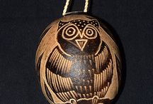Amazon Calabash, Tree Ornaments, and Hand Rattles