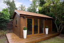 garden offices, sheds and tiny houses
