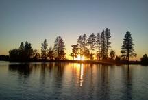 Morgan Lake Sunset