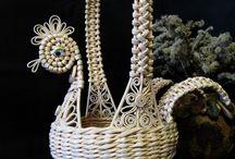 papirové pletení