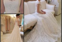 Wedding - Brides and Bridesmaid Attire / Brides attire, Bridesmaid attire