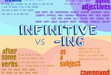-Ing-form and infinitive