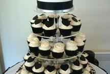 wedding brownie display