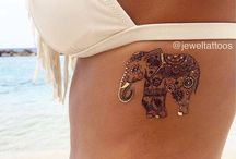 Elephants tatt