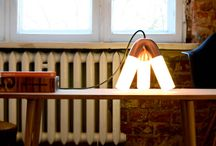 Lighting design / Our lighting projects - prototypes and final products